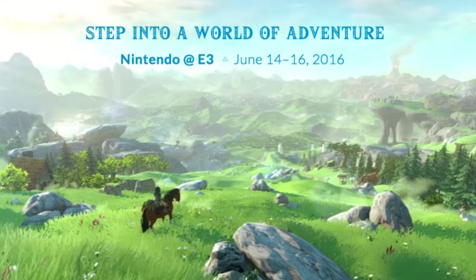 Nintendo Reveals Streaming Schedule for E3 2016