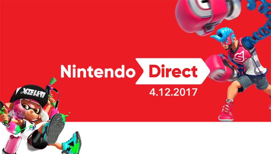 Nintendo Direct April 12, 2017 Recap