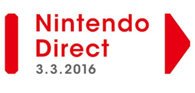 Nintendo Direct March 3, 2016 Recap