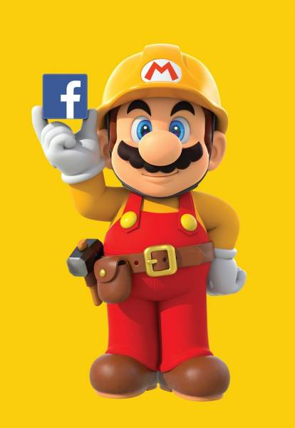 Nintendo Teams Up with Facebook For Super Mario Maker's Launch