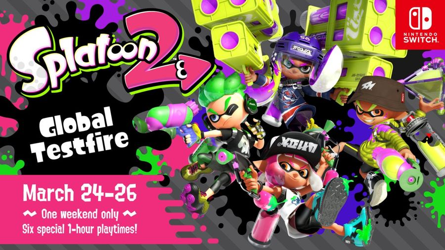 Splatoon 2 Brings Backs the Global Testfire Event