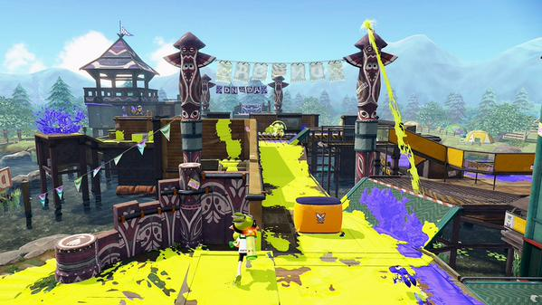 Another Splatoon Map Coming Tomorrow