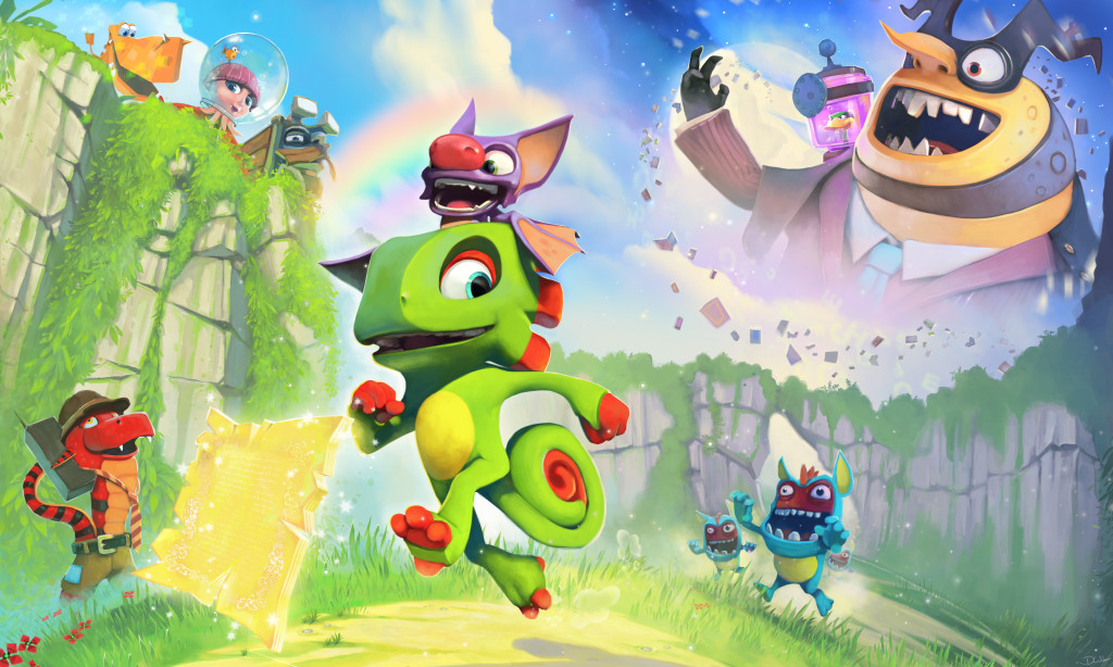 An Update Given on Playtonic's Yooka-Laylee