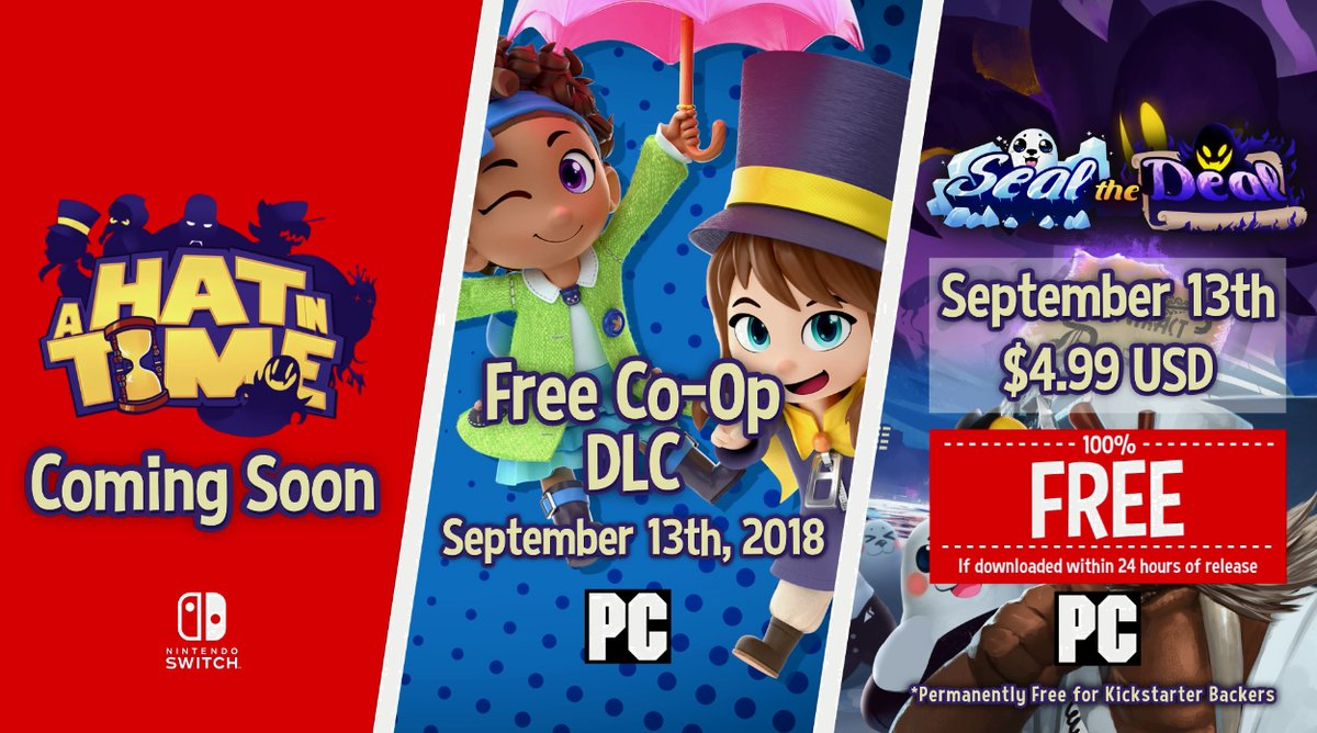 A Hat in Time is Coming to Switch with New DLC