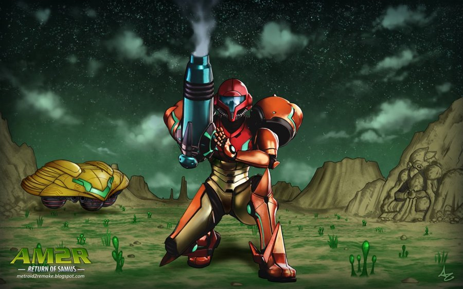 Another Metroid 2 Remake Logo