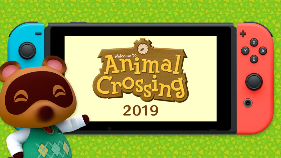 Animal Crossing New Horizons is Coming to Switch in March 2020