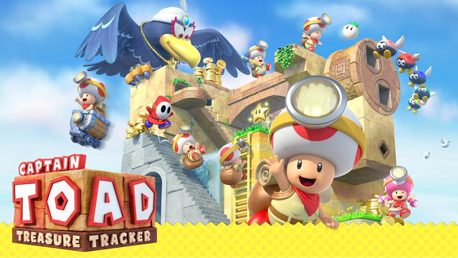 Captain Toad Tresure Tracker Switch 3DS