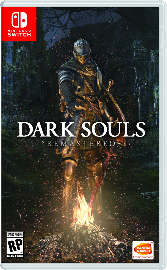 Darksouls Remastered Boxart Switch