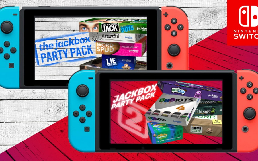 Jackbox Party Pack Switch