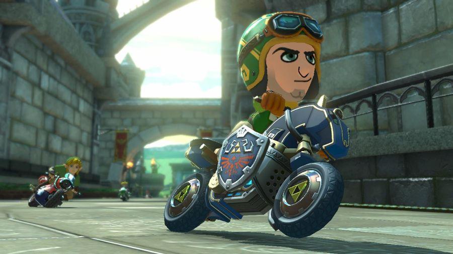 Mario Kart 8 Master Cycle
