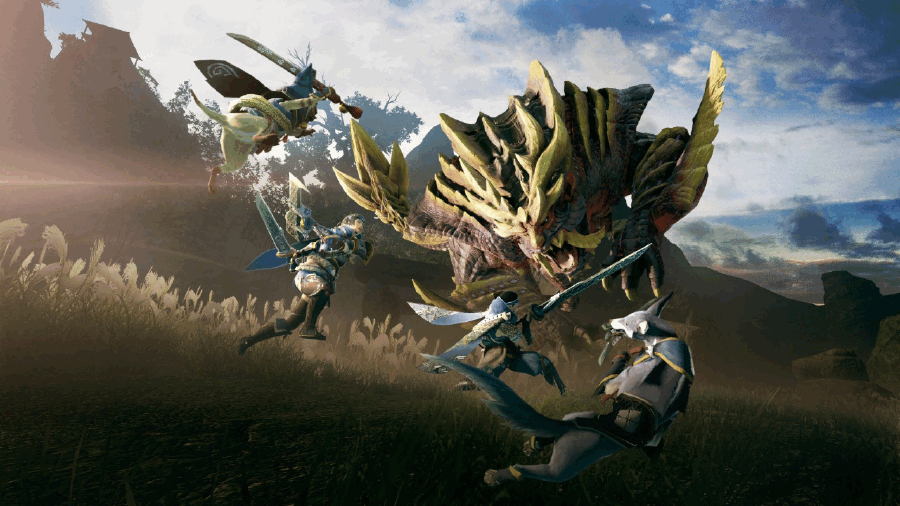 Monster Hunter: Rise Released for Nintendo Switch