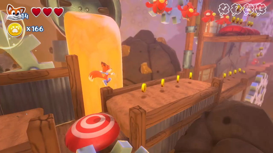 New Super Lucky's Tale Screenshot Switch