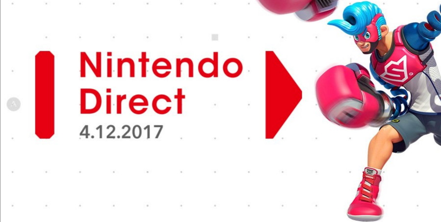Nintendo Direct Featuring ARMS and Splatoon 2 Coming April 12