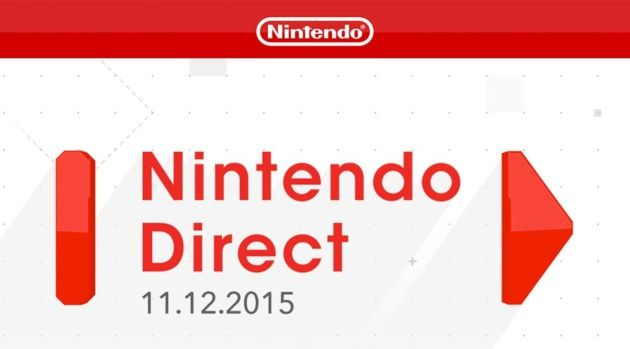 Nintendo Direct Presentation Announced for November 12