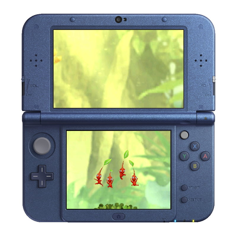 Pikmin 3DS Screenshot