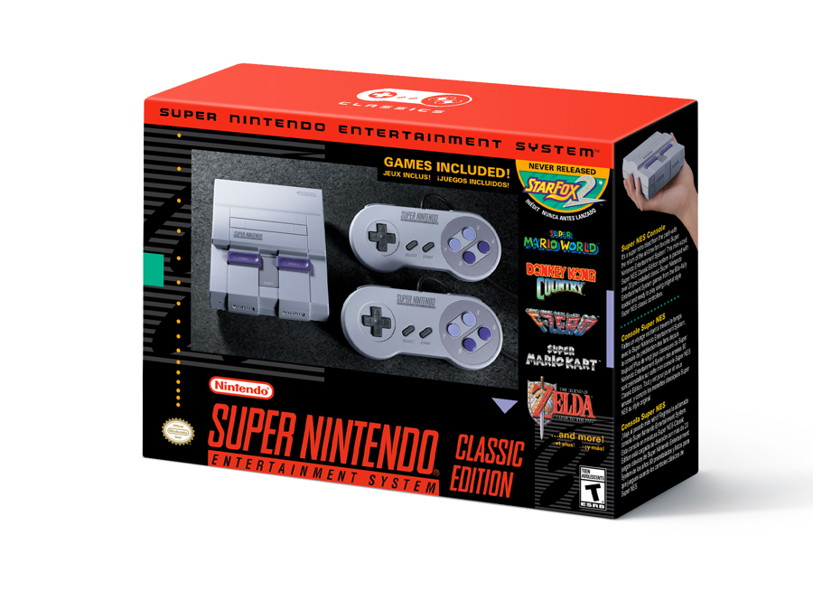 Super Nintendo Classic Will be Available this Holiday Season for $79.99