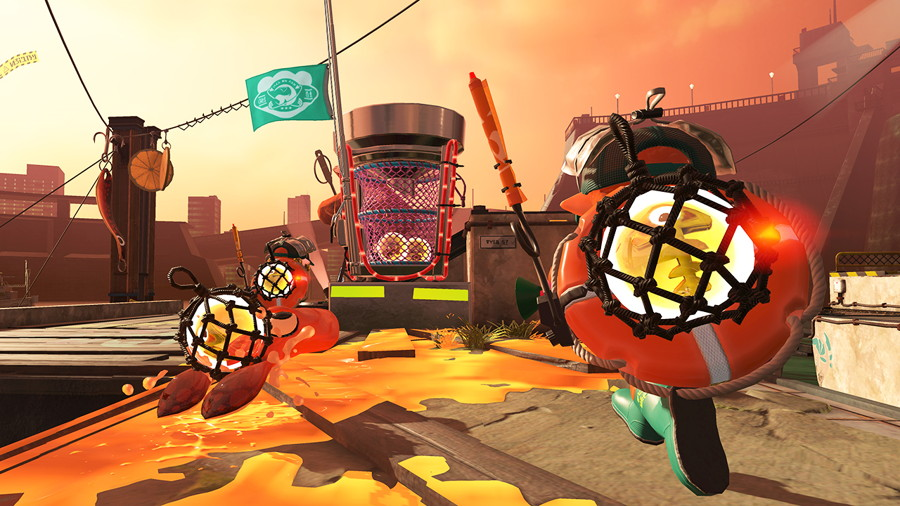 Splatoon 2 Salmon Run Screenshot
