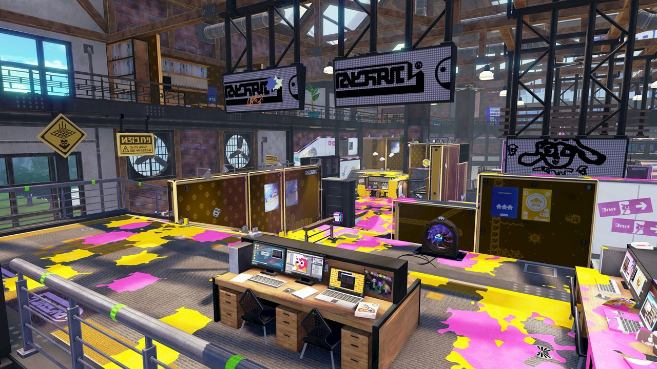 Splatoon Ancho-V Games