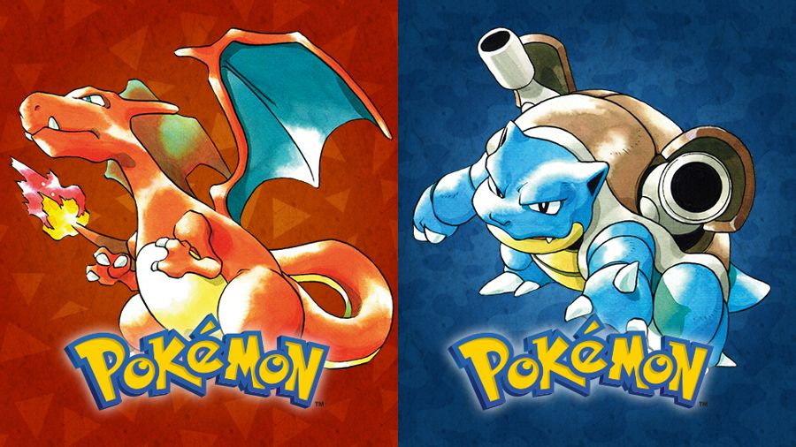 Pokemon Red or Blue Splatfest