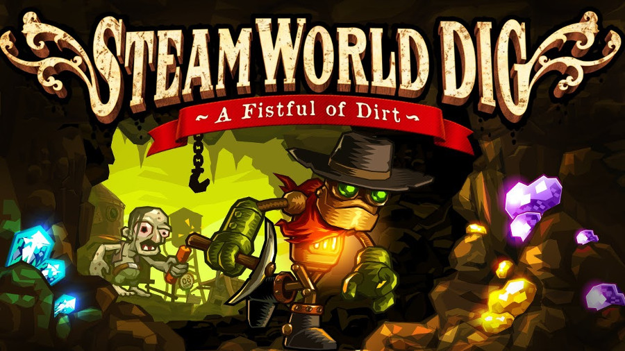 Down and Dirty - SteamWorld Dig Review