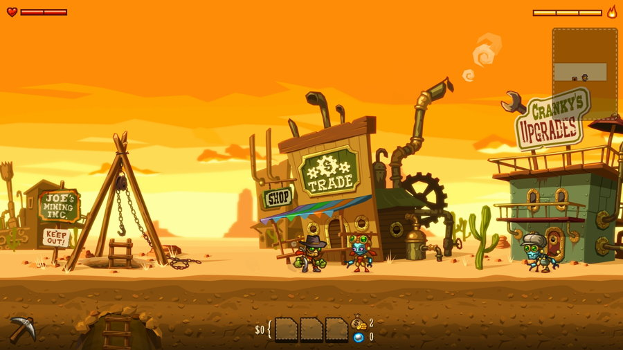 Steamworld Screenshot