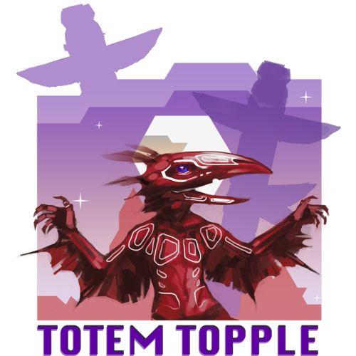 Totem Topple Logo