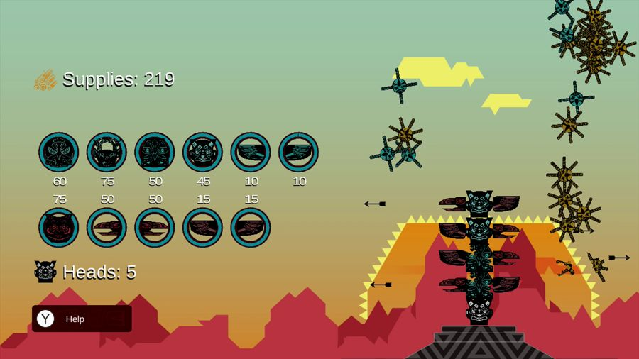 Totem Topple Review Wii U