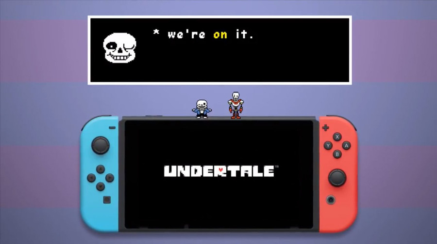 Undertale is Eventually Coming to Switch