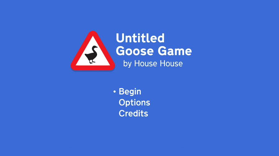 Untitled Goose Game Logo Switch