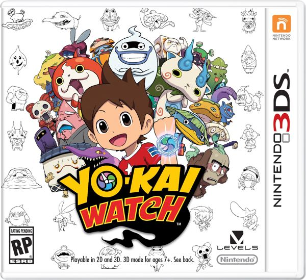 Yo-Kai Watch Box Art