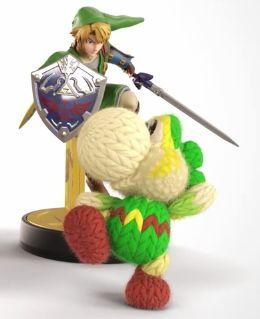 Yoshi and Link Amiibo