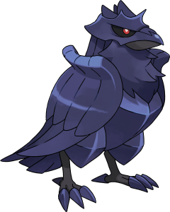 Pokemon Sword Shield Corviknight