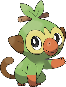 Pokemon Sword Shield Grookey