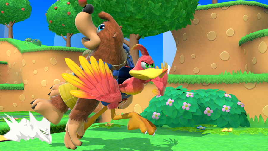 Banjo-Kazooie and The Hero from Dragon Quest are Smash DLC Fighters
