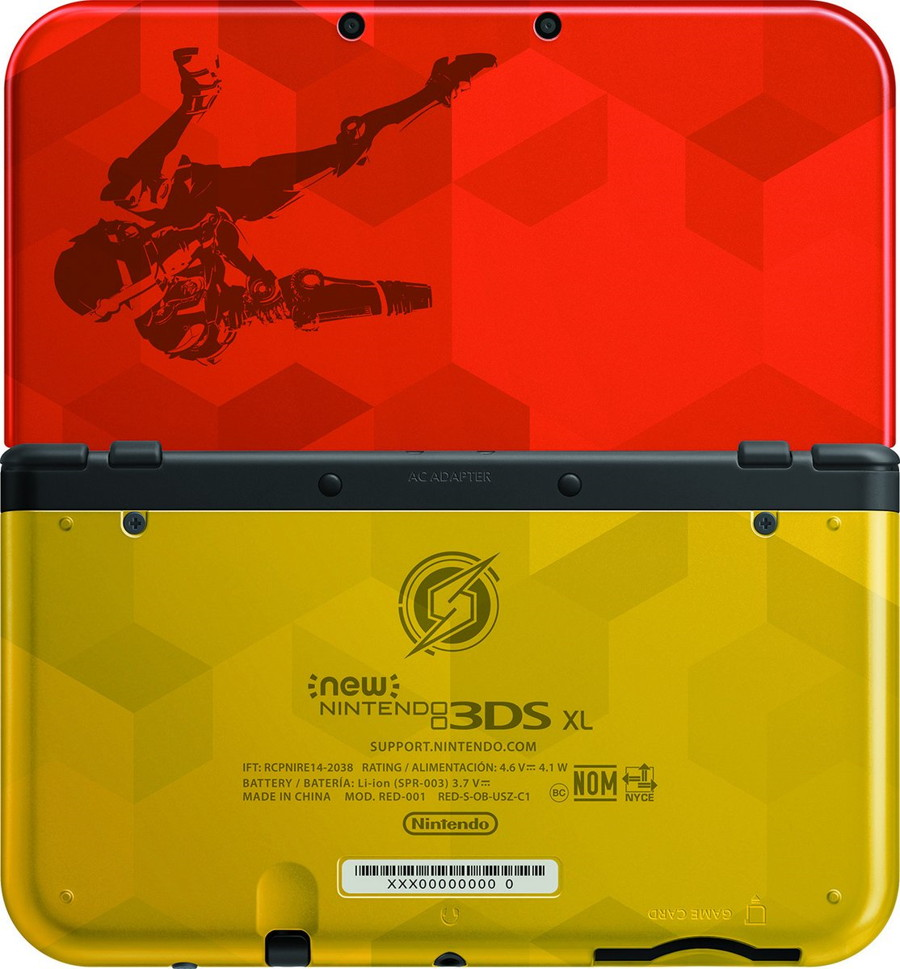 Samus Edition 3DS