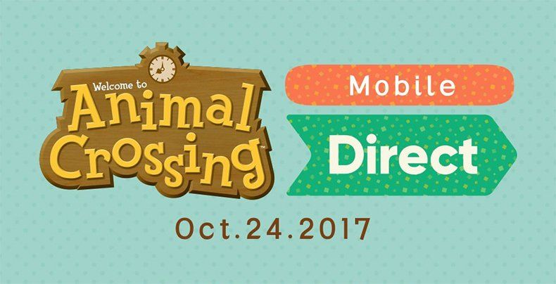 Animal Crossing Mobile Direct Coming October 24