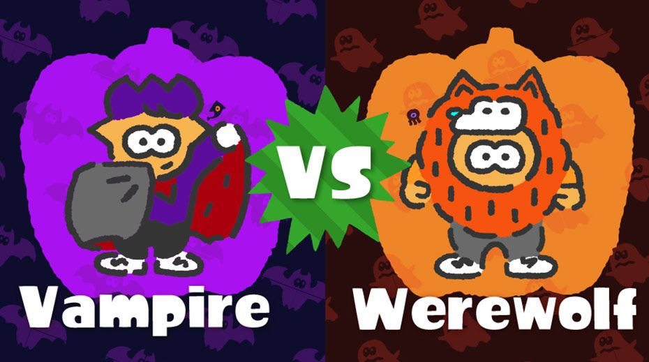 Vampire Comes Out Victorious in Latest Splatfest