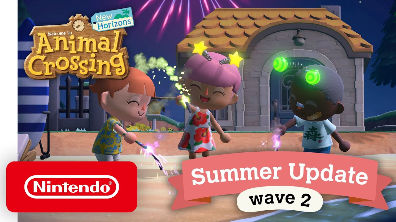 Animal Crossing New Horizons Wave 2 Summer Update