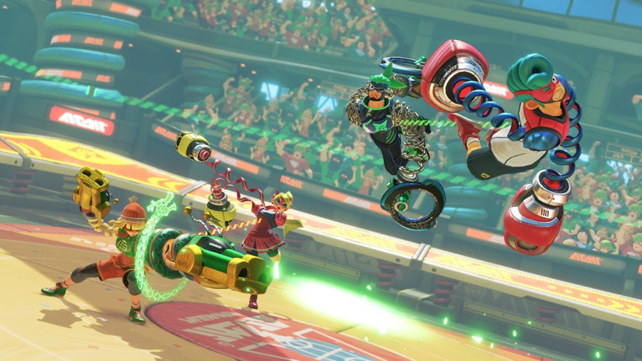 New Footage of ARMS Reveals a June 16 Release