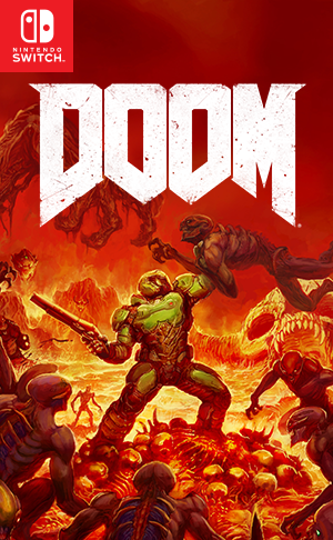 Doom Boxart Switch