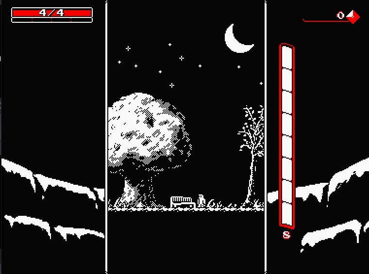 Downwell Opening Screen