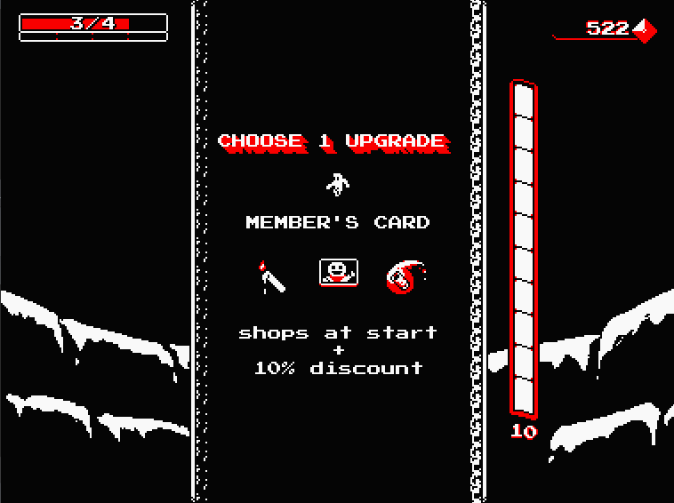Downwell Upgrades