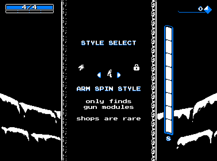 Downwell Styles