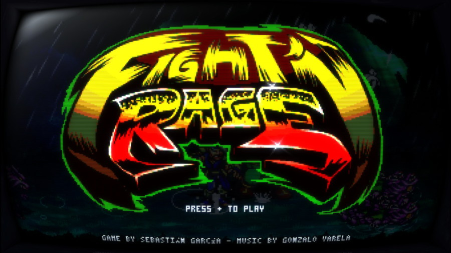 Fight'N Rage Logo