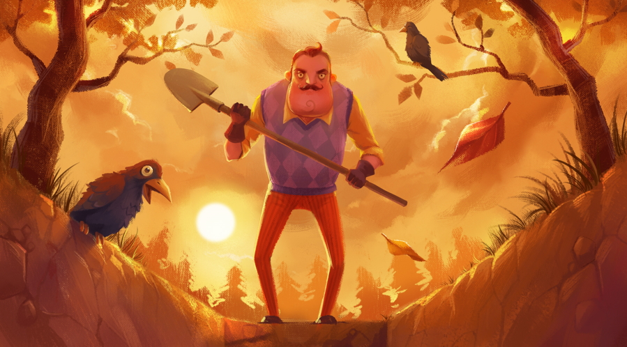 Hello Neighbor Art