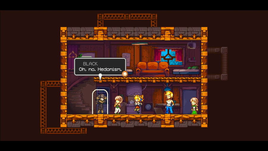 Iconoclasts Switch Screenshot