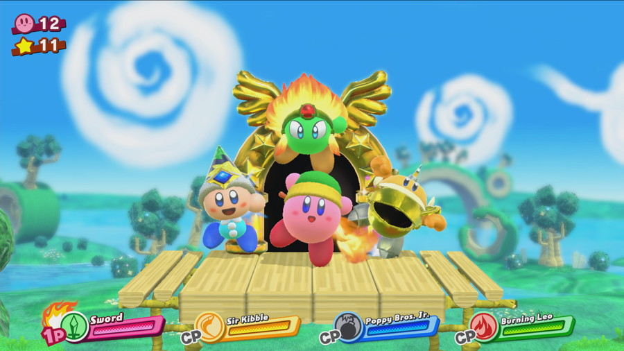 Kirby Switch Screenshot