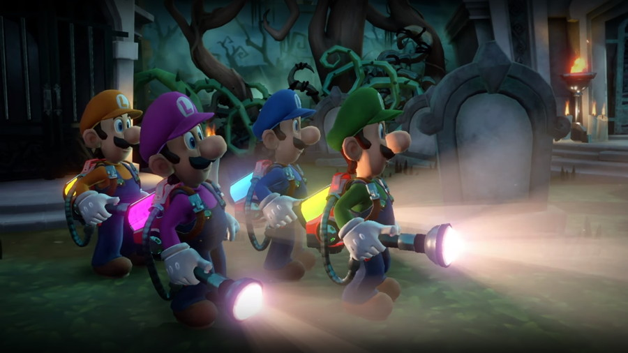 Luigi's Mansion 3 ScreamPark