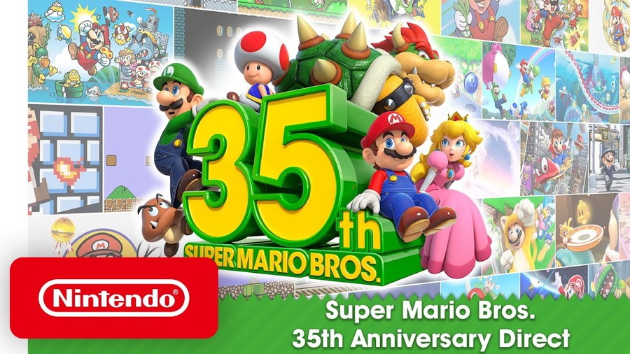 Super Mario 35th Anniversary Direct Brings Tons of Mario Games to Nintendo Switch