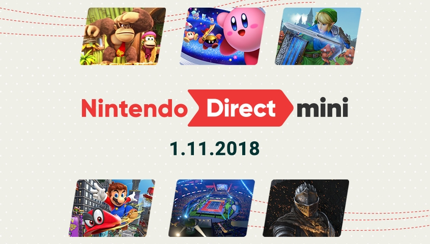 Nintendo Increases 2018 Lineup with Nintendo Direct Mini
